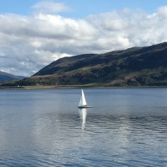 View from Ullapool Harbour
